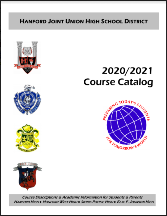 2020/2021 English Course Catalog