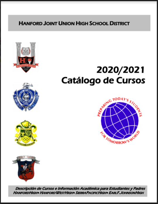 2020/2021 Spanish Course Catalog